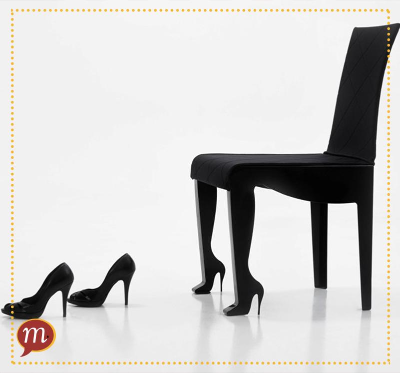 cadeira e salto